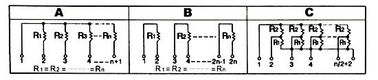 Sip Resistor Networks Resistors Chuan Hao Electronic Co